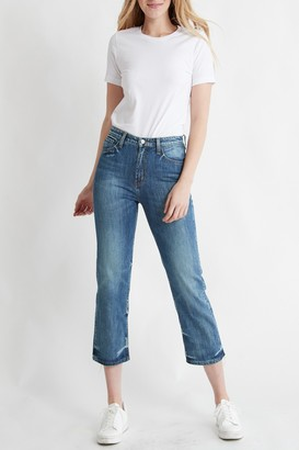 Flying Monkey Faria High Rise Crop Straight Jeans