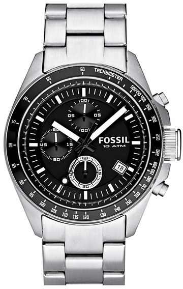 Fossil Chronograph Tachymeter Watch, 44mm