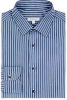 Boglioli Men's Striped Cotton Poplin Dress Shirt
