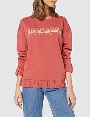 Napapijri Women's Bevora W C Sweatshirt, Mineral Pink P93, Small