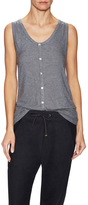 Lot 78 Cashmere Button Down Tank
