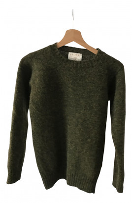 Holiday Khaki Wool Knitwear