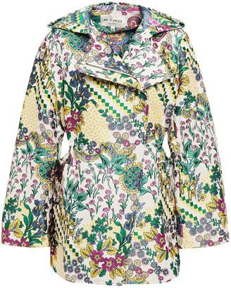 Etro Floral-jacquard Hooded Jacket