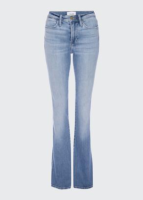 Frame Le High Flare Light-Wash Denim Jeans