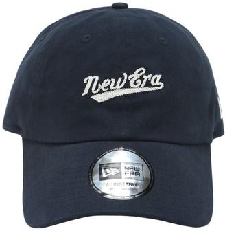 New Era Embroidered Classic Cotton Cap