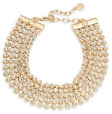 RJ Graziano Five Row Stone Accented Necklace