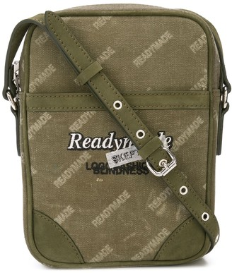 Readymade Logo Print Messenger Bag