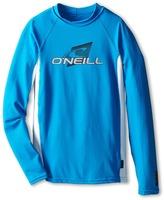 O'Neill Kids Skins Long Sleeve Crew (Little Kids/Big Kids)