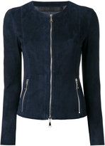 Drome zipped jacket - women - Leather/Suede - L
