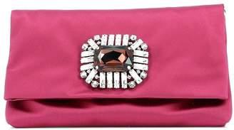 Jimmy Choo Titania Jewel Embellished Clutch Bag