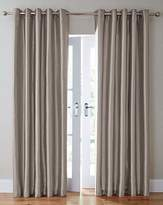 Fashion World Faux Silk Eyelet Curtains