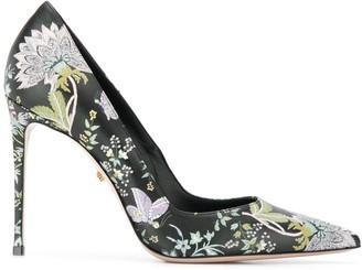 Le Silla floral pumps