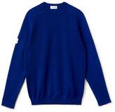Lacoste Men's Mixed Rib Crewneck Sweater