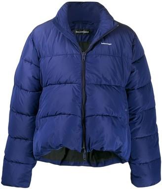 Balenciaga C shape down jacket