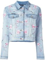 Philipp Plein 'Pycnopodia' denim jacket