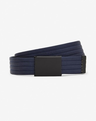 Express Quilted Nylon Plaque Belt