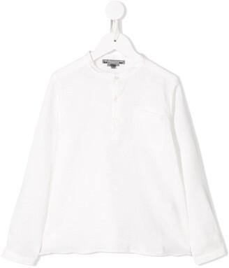 Bonpoint Mandarin collar shirt