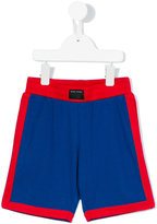 Little Marc Jacobs colour block shorts - kids - Polyester - 8 yrs