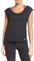 Nike Women's Breathe Running Tee