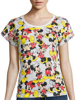 Mighty Fine Short-Sleeve Mickey Graphic T-Shirt