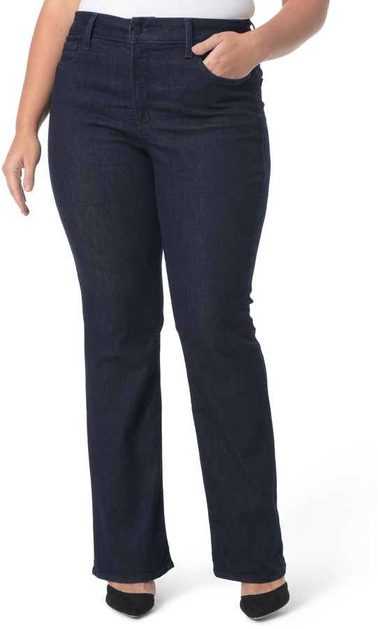 Stretch Bootcut Jeans Shop The World S Largest Collection Of Fashion Shopstyle
