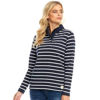 Board Angels Womens 1/4 Zip Top Navy