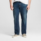 Mossimo Men's Big & Tall Straight Jeans Medium Wash