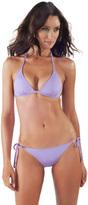 Voda Swim Lilac Envy Push Up String Bikini Top