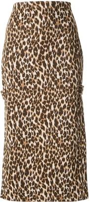 Manning Cartell Australia High-Waisted Leopard Skirt