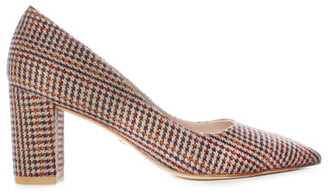 Stuart Weitzman Laney Plaid Pump