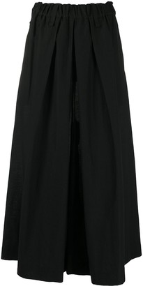 Issey Miyake High-Waisted Wide Trousers
