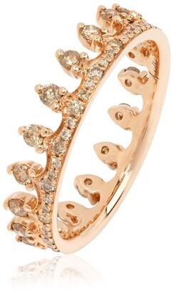 Annoushka Rose Gold Crown Ring
