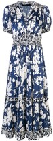 Polo Ralph Lauren floral print flared dress