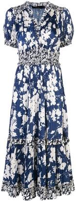 Polo Ralph Lauren floral print flared dress