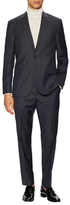 Kenneth Cole New York Wool Plaid Notch Lapel Suit