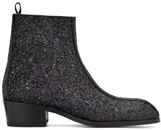 Giuseppe Zanotti New York Glitter ankle boots