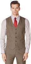 Perry Ellis Big and Tall Subtle Pattern Twill Suit Vest