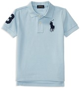 Ralph Lauren Boys' Mesh Big Pony Polo Shirt - Sizes 2-7