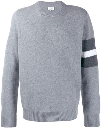 Maison Margiela sweater with stripe detail