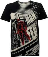 Marvel Daredevil Without Fear Subway T-shirt