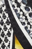 Peter Pilotto Leena printed silk-satin top