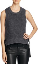 DKNY Pure Sleeveless Side Strap Sweater