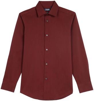 Chaps Boys 4-20 Stretch Button-Down Shirt In Regular & Husky