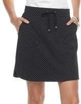 Croft & Barrow Petite Knit Skort