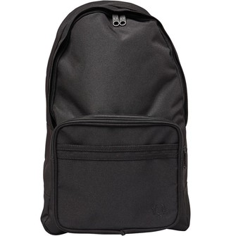 Fred Perry Mens Twin Tipped Back Pack Black/Black