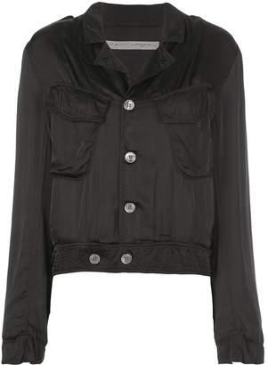 Raquel Allegra buttoned cargo jacket