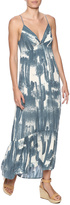 Love Stitch Lovestitch Printed Maxi Dress