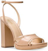 MICHAEL Michael Kors Yoonie Block-Heel Dress Sandals