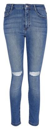 Dorothy Perkins Womens Petite Blue Light Wash 'Alex' Jeans