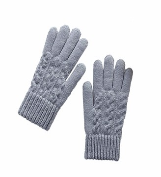 TIFIY Women Multi-Function Outdoor Riding Glove Touch Screen Cute Winter Gloves Soft Warm Knit Mitten